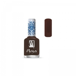 Lakier do stempli MOYRA Dark Brown 13 - 12 ml